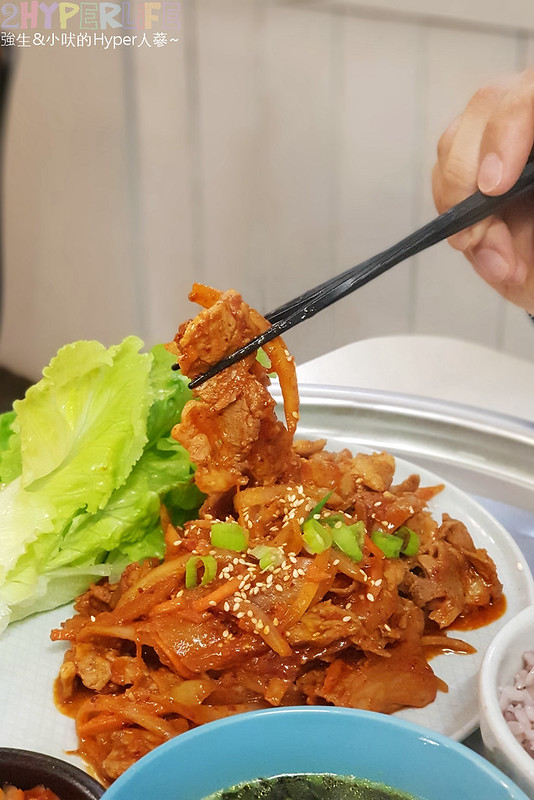46611636184 1a8148b9c9 c - 韓國夫婦廚師開的韓國料理!米花停的韓式辣醬豬肉份量多肉肉控會愛,泡菜豆腐湯味道也不一般啊~