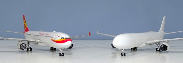 NG Models A330 New Mould vs Phoenix