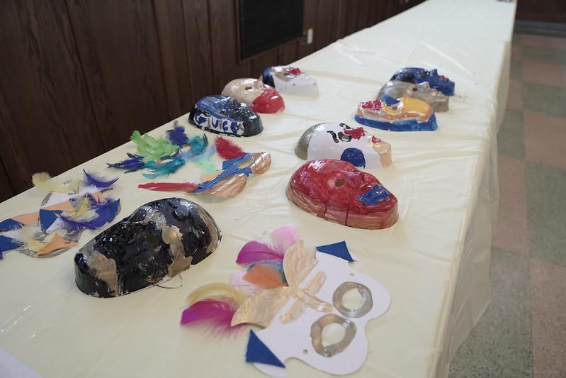 6th Graders Create Venetian Masks