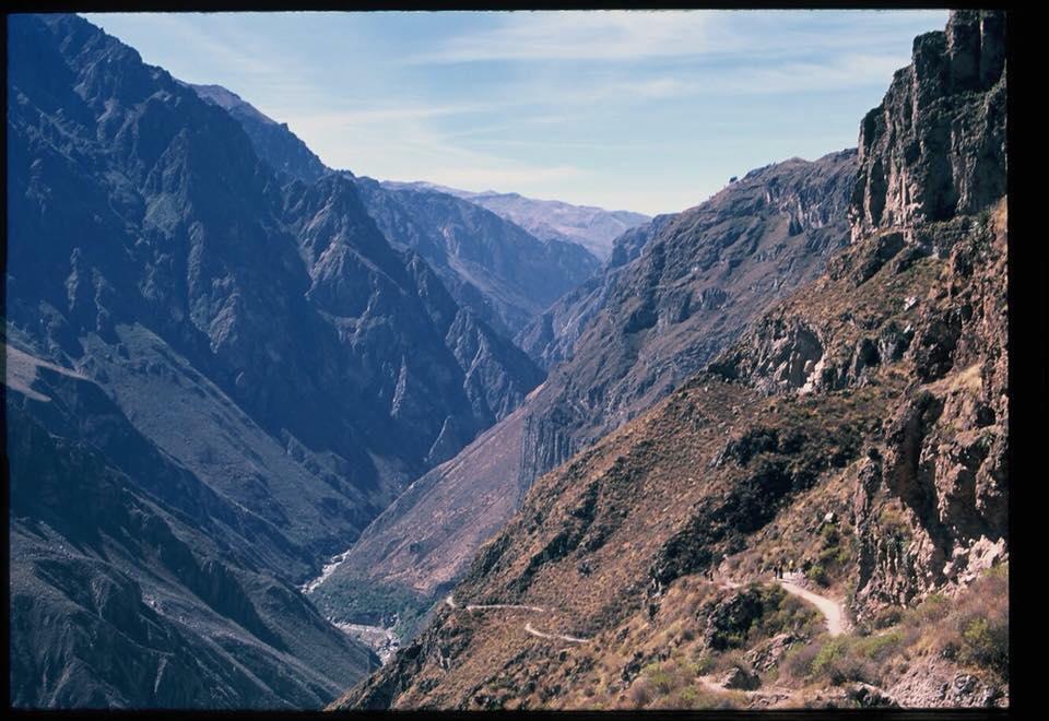 trek COLCA CANYON ở Arequipa, Peru