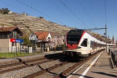 CFF RABe 523 017 FLIRT à Villette