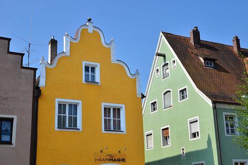 Berching facades