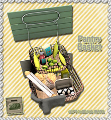 crate Pantry Basket for Saturday Sale! Out Now