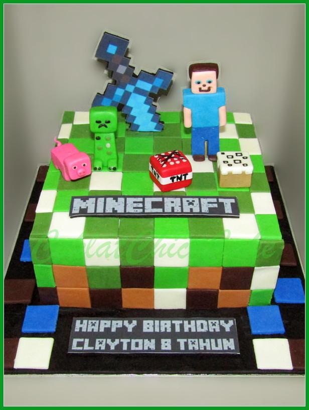 Caka Minecraft CLAYTON 18 cm