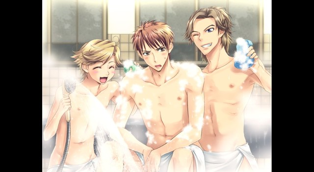Hadaka Shitsuii - Naked Butlers - Showering Together