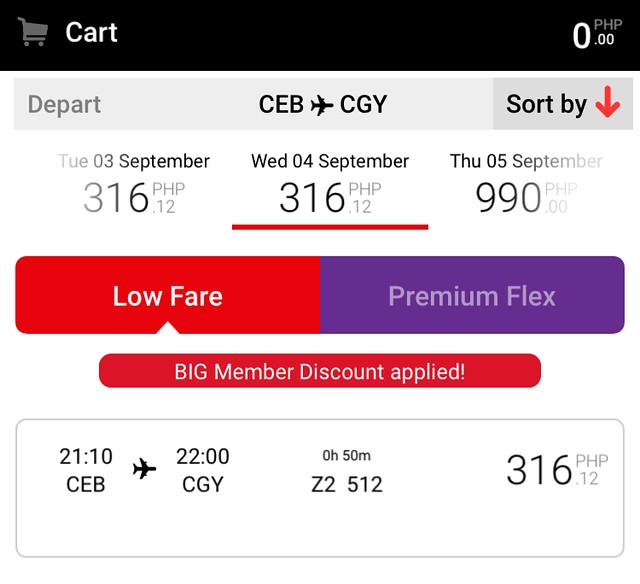 AirAsia Red Hot Sale March 2019 - Cebu to Cagayan de Oro