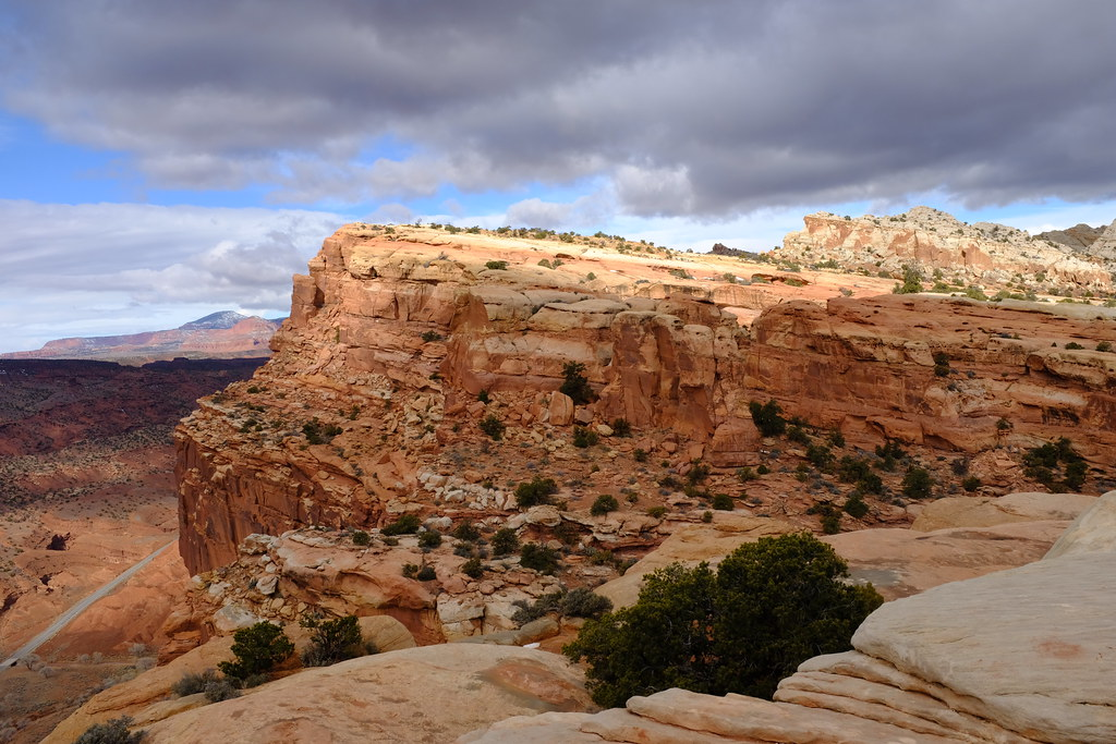 Capitol Reef NP / Rim Overlook