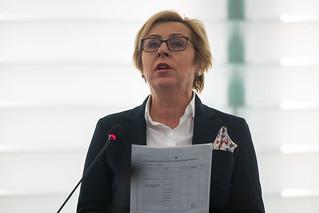 Debate on Climate Change - with Jadwiga WIŚNIEWSKA (ECR)