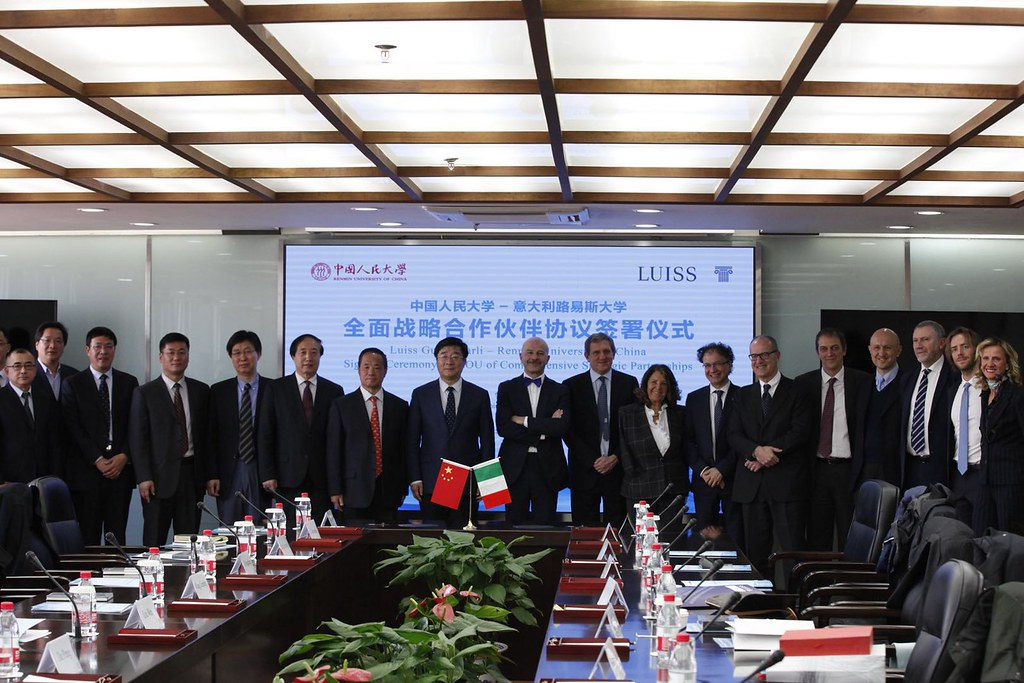 Accordo Luiss e Renmin University of China