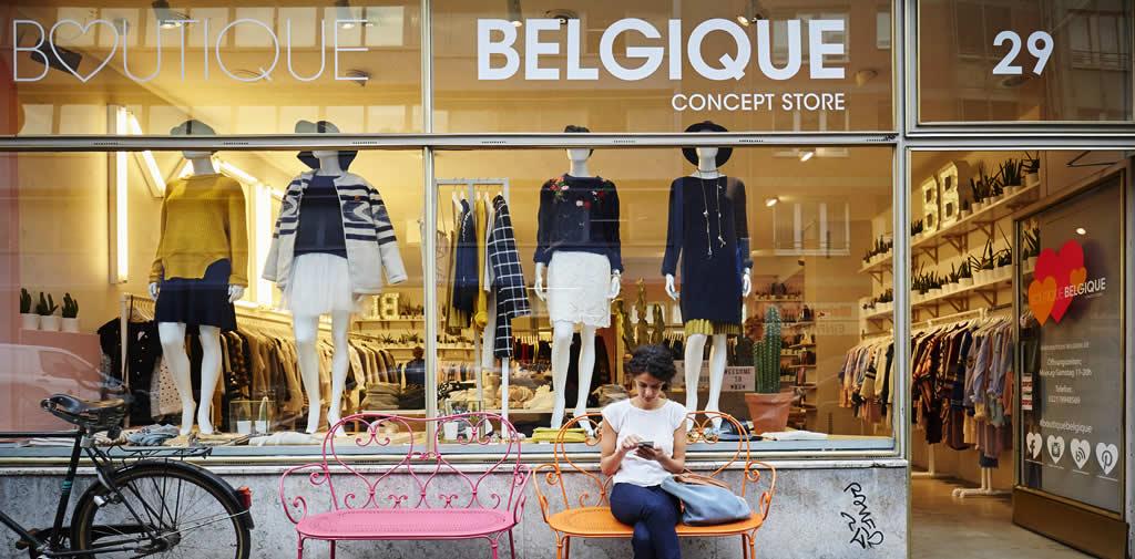 Boutique Belgique: Belgisches Viertel | Mooistestedentrips.nl