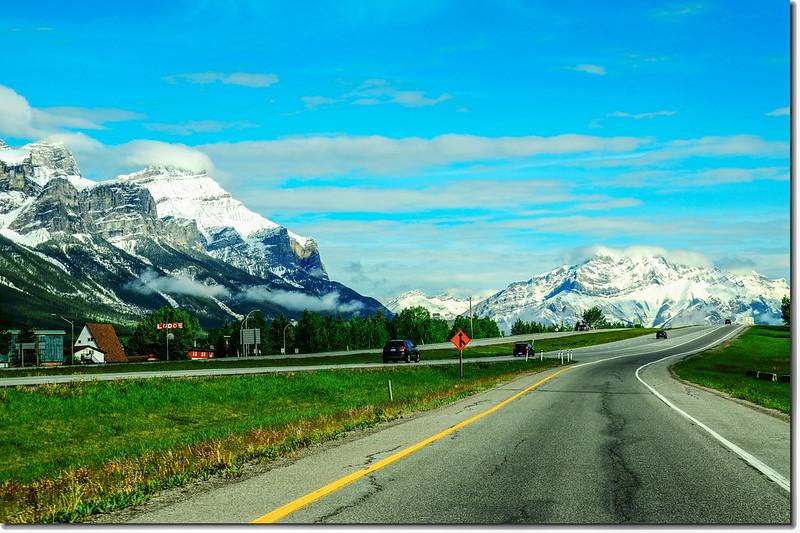 一號公路(Trans-Canada HwyAB-1)沿途雪景 1