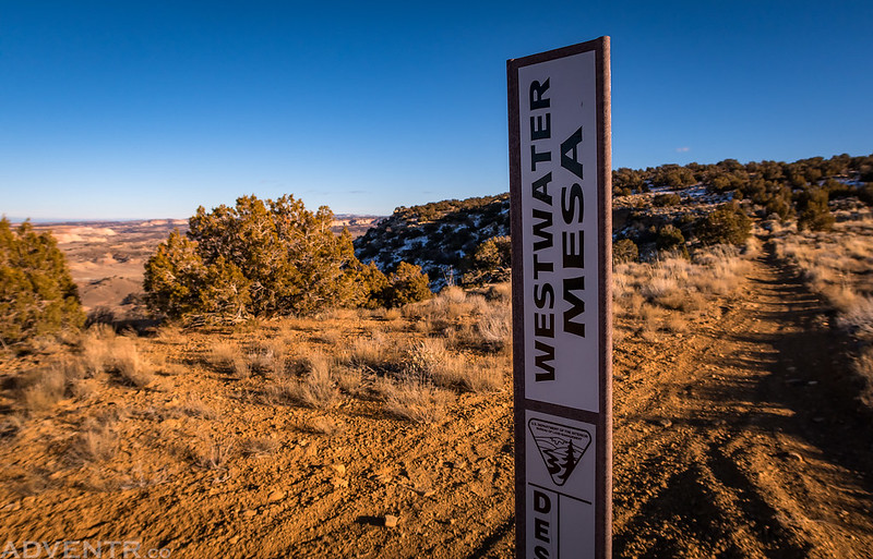 Westwater Mesa Sign