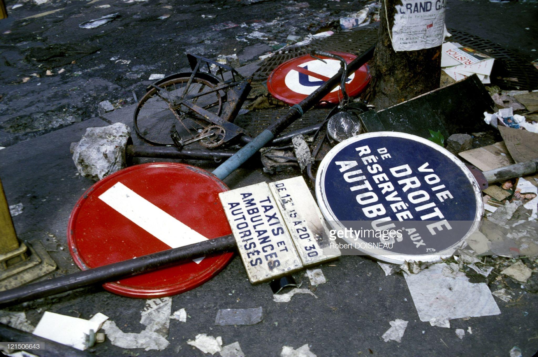 1968. Май в Париж