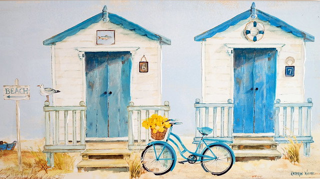 Bike Beach Huts at, Fujifilm X-Pro2, XF35mmF1.4 R
