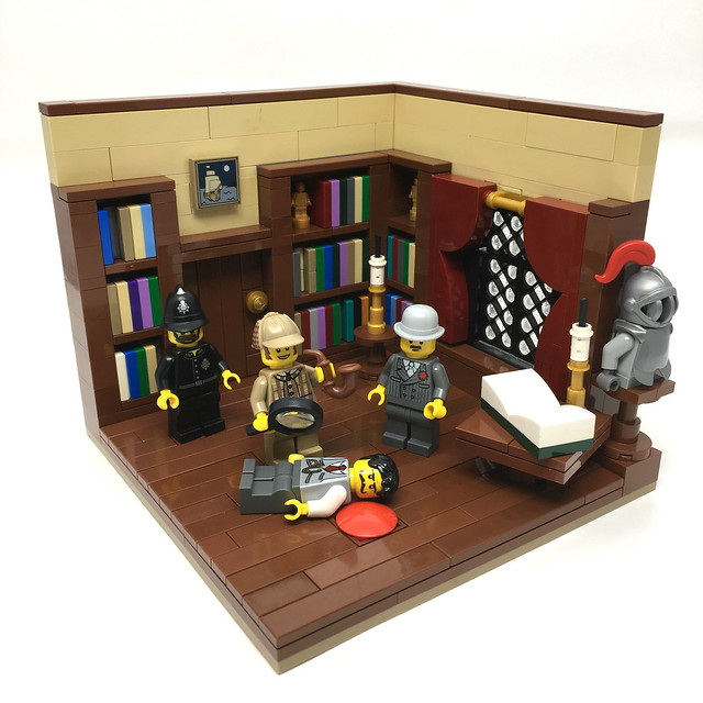 LEGO Sherlock Holmes and Watson