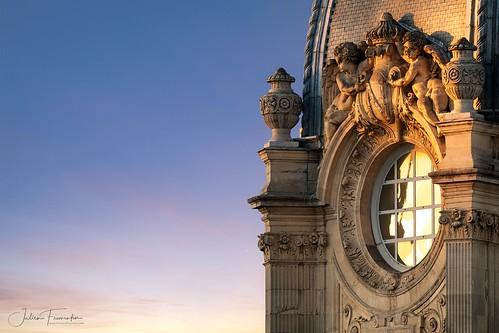 Détail du Tribunal de Commerce, Paris