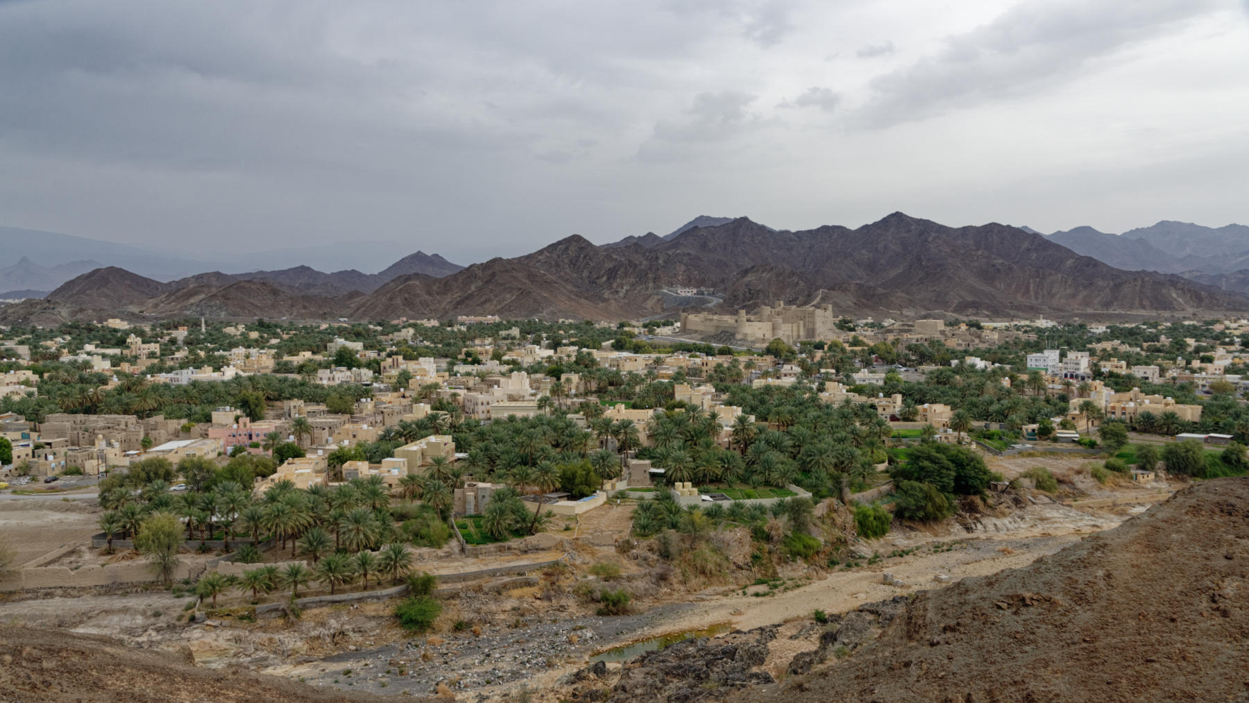 View over Bahla, Oman