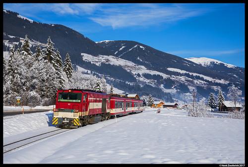 Pinzgauer Lokalbahn 82, Krimml 31-12-2017