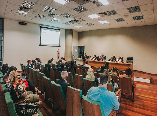 Audiência na Comissão de Assuntos Fundiários - 22/03/2019