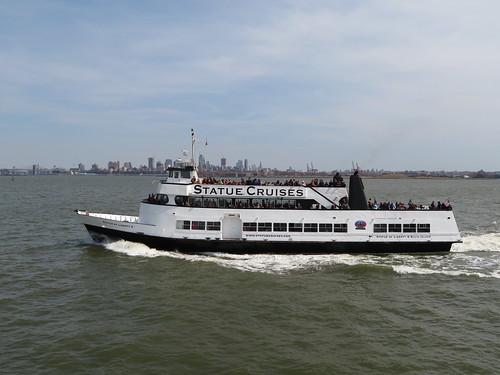 Statue Cruises Near the Statue of Liberty, New York, New York