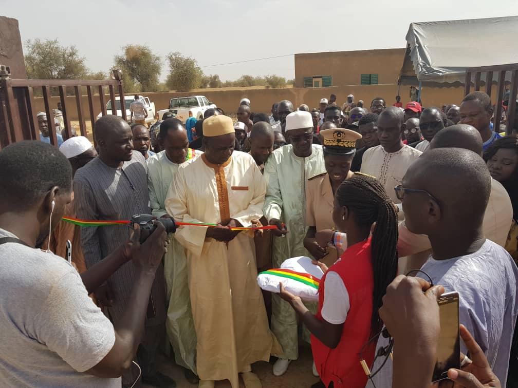 Inauguration d'infrastrutures par le PUMA à MATAM (64)