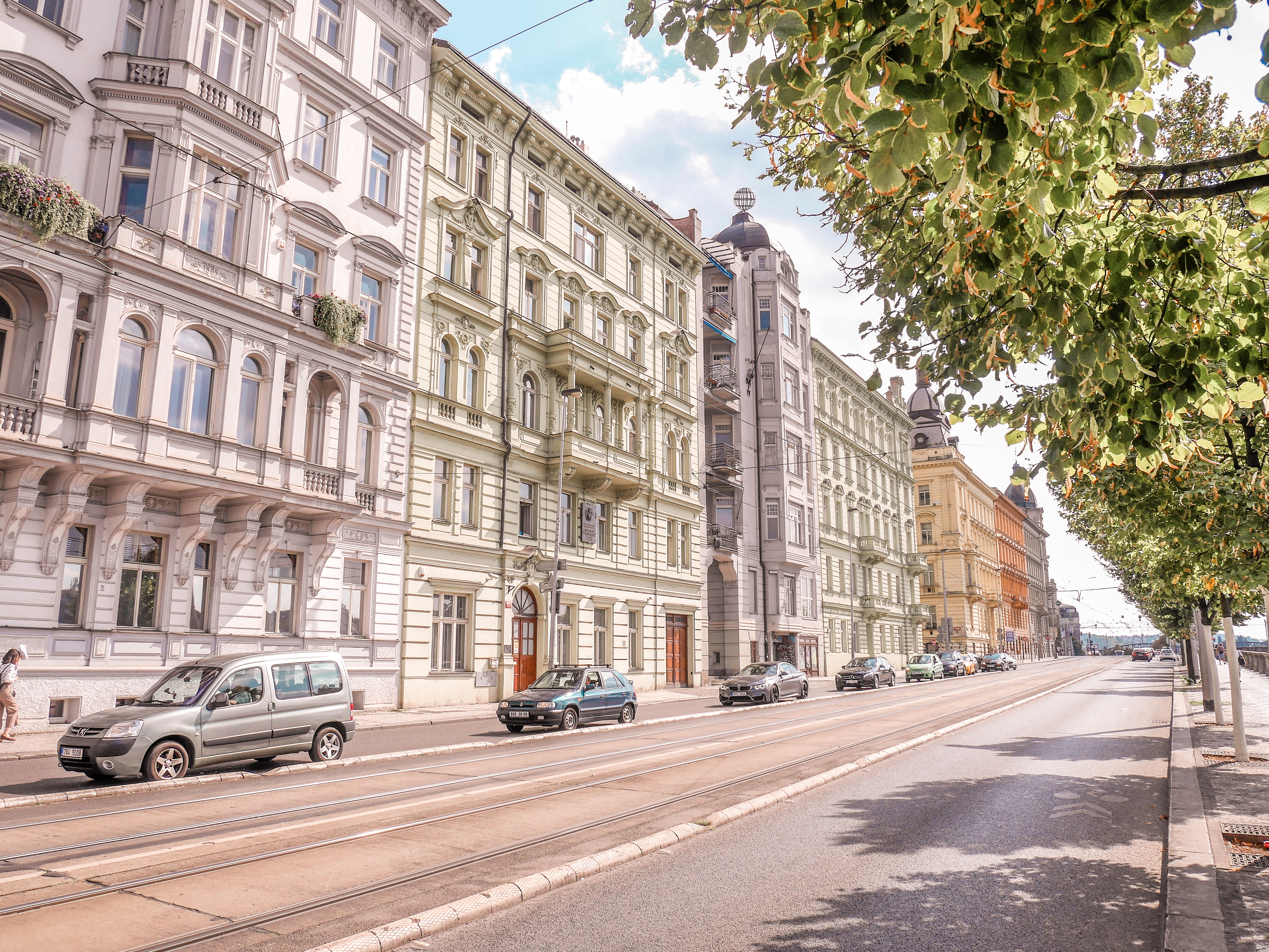 Prahan arkkitehtuuri.