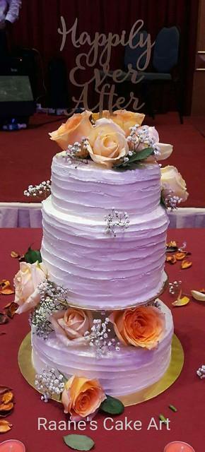 Vintage Themed Wedding Cake by Sugunerani Sugumaran of Raane's Cake Art