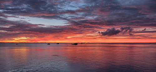 Darwin Harbour sunrise, NT, Australia