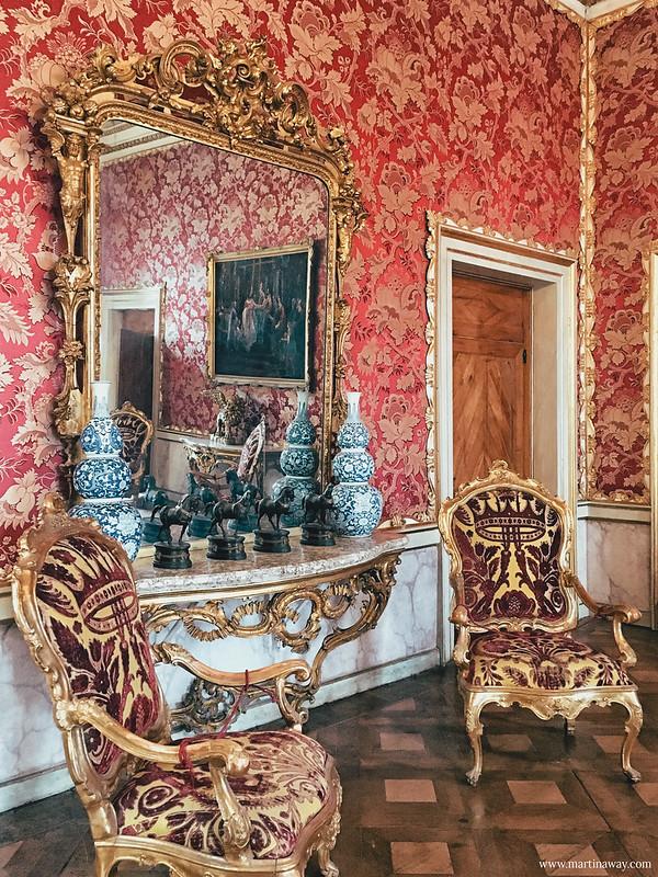 Stanze dell'Imperatrice Elisabetta: sala del trono Lombardo-Veneto