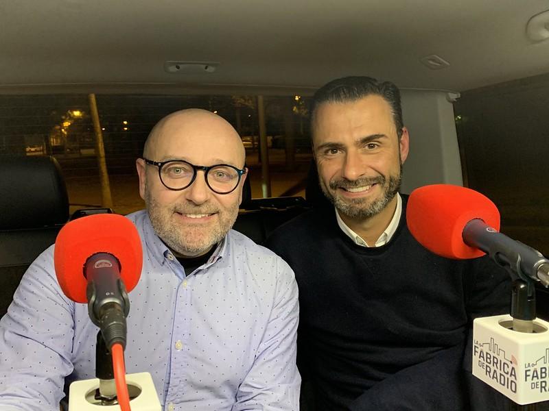 Foto Musicoctel Rafa Serra Paco Cremades La Fabrica de Radio