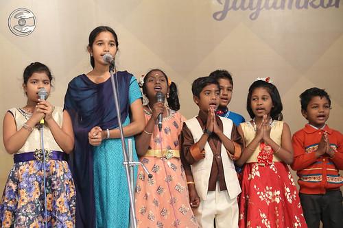 Welcome song by bal sangat Jayamkondan