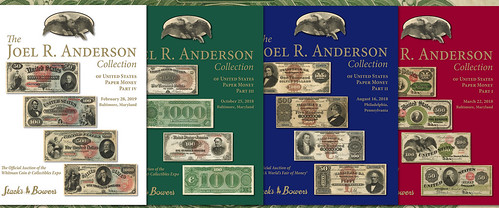 Joel. R. Anderson Collection sale catalogs