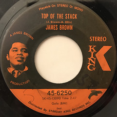 JAMES BROWN:LOWDOWN POPCORN(LABEL SIDE-B)