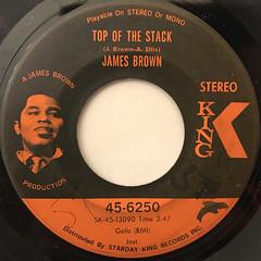 JAMES BROWN:LOWDOWN POPCORN(LABEL SIDE-B)
