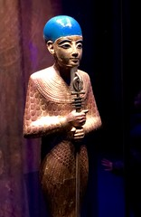 Statue de Ptah en bois doré, 1336-1326 av. J.-C.