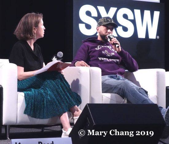 Vanessa Reed and DJ Target Friday SXSW 2019