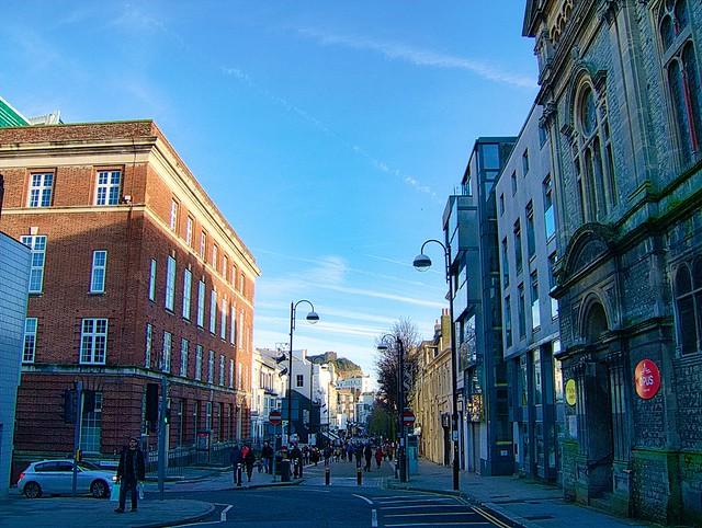 Towards Town, Hastings., Fujifilm FinePix E900