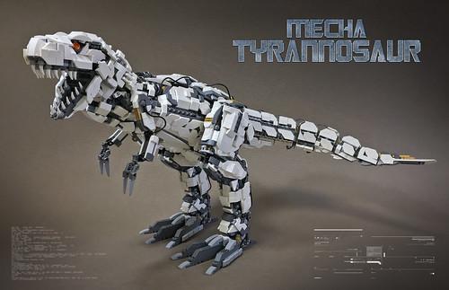LEGO Mecha Tyrannosaur Mk2-01TT