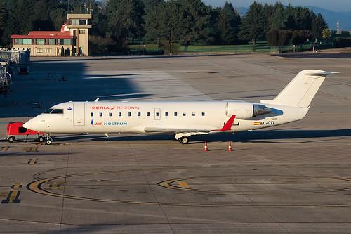 [EC-GYI] AirNostrum - Canadair Regional Jet CRJ-200ER