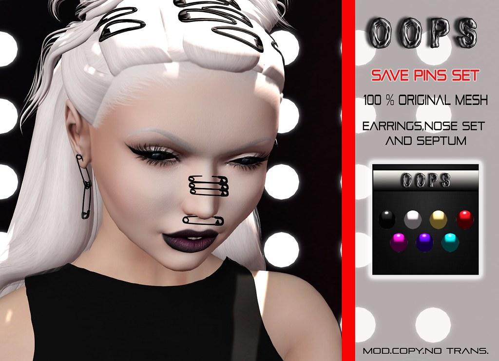 ::OOPS:: Save Pins Set