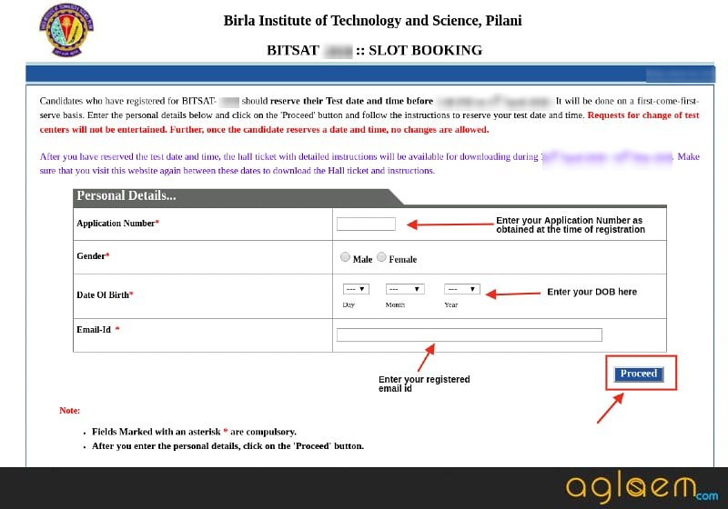 BITSAT 2019 Slot Booking - Last Date 12 Apr, Do Here BITS Slot Booking 2019