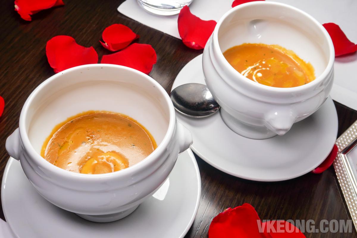 Grand Hyatt Thirty8 Valentine Soup
