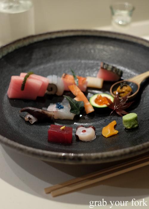 Omakase sushi at Masuya in Sydney