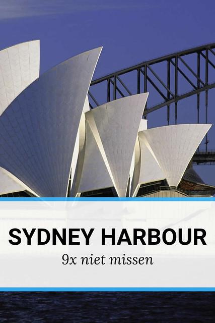 Sydney Harbour, bezienswaardigheden in Sydney Harbour | Mooistestedentrips.nl
