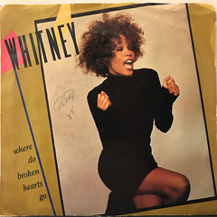 WHITNEY HOUSTON:WHERE DO BROKEN HEARTS GO(JACKET A)