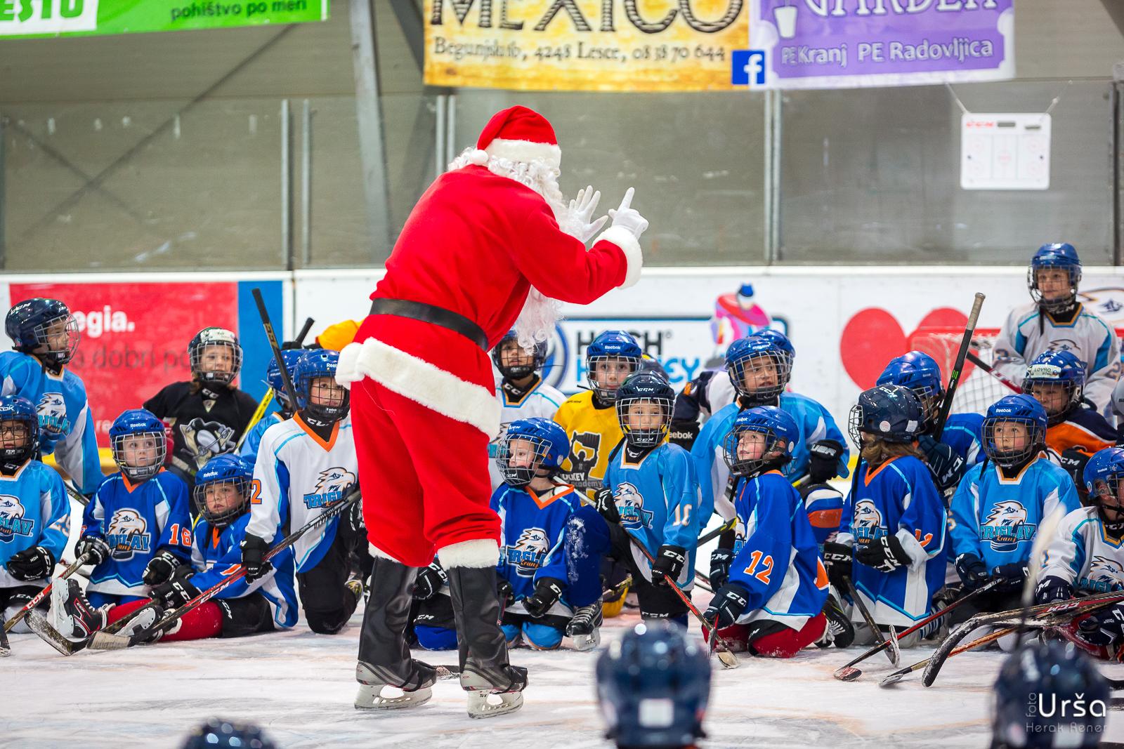 Obisk božička na ledu, 20. 12. 2018