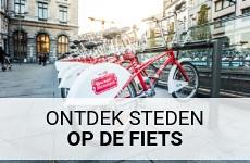 Fietsen tijdens een stedentrip | Mooistestedentrips.nl