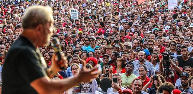 Lula discursa em Cruz das Almas (BA) - Créditos: Ricardo Stuckert