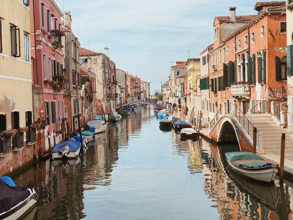 каналы Венеции фото