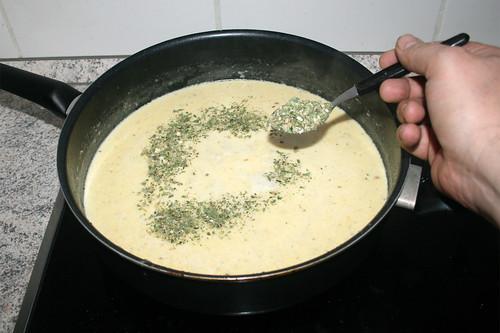 46 - Mit italienischen Kräutern würzen / Season with italian herbs